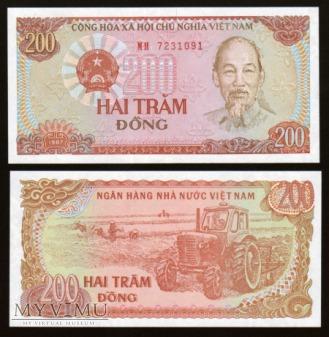 Vietnam - P 100 - 200 Dong - 1987