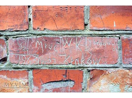 """Duże zdjęcie """"Stara Prochownia"""" - budynek A - inskrypcja #050"""