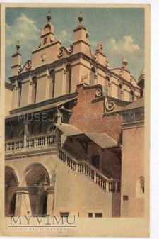 Duże zdjęcie Kraków - Rynek - Sukiennice - 1944