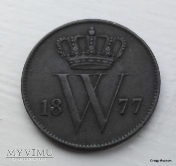 1 CENT 1877 HOLANDIA
