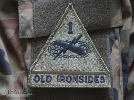 1st Armored Division - polowa