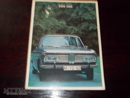 Prospekt BMW 2000