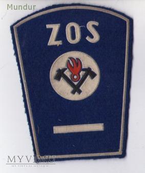 Dystynkcje ZOS służba przeciwpożarowa