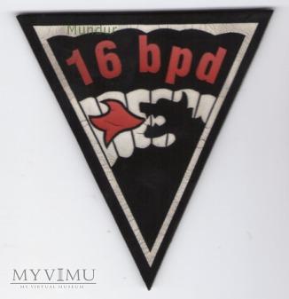 Oznaka 16 batalion powietrzno-desantowy 6PBPD