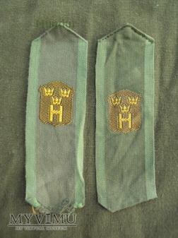 Szwecja - polowe oznaki stopnia: hemvärnet