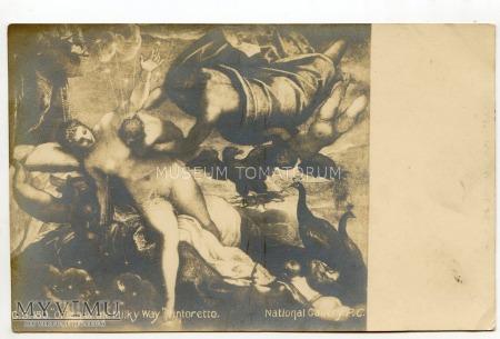 Tintoretto - Powstanie Drogi Mlecznej