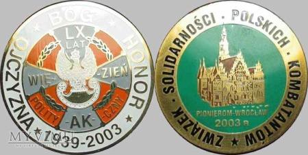 184. 70 lat więzień politycznych 1939-2003. AK
