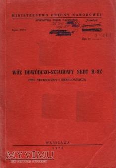 SKOT R-3Z. Opis techniczny z 1975 r.