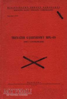 Trenażer gąsienicowy MPG-69. Instrukcja z 1973 r.