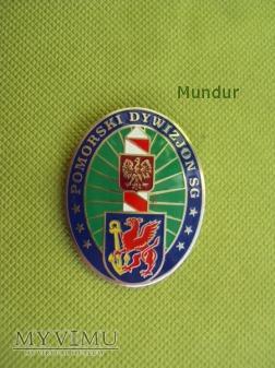 Odznaka pamiątkowa: Pomorski Dywizjon SG