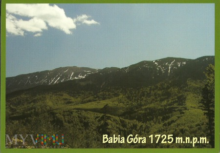 BABIA GÓRA 1725 m.n.p.m.