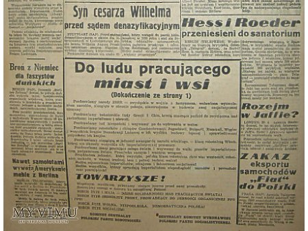 Głos Pomorza nr.118-01.05.1948