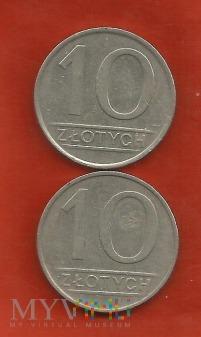 Polska 10 złotych, 1984/1985