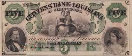 Stany Zjednoczone (Luizjana) - 5 dolarów (1860)