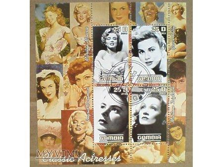 Duże zdjęcie Marlene Dietrich Gambia 2003 Classic Actresses