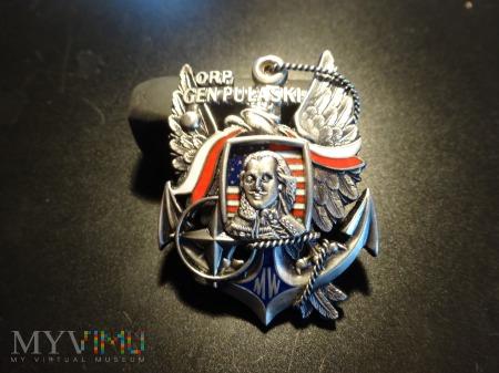 "Duże zdjęcie ORP ,, Gen. Pułaski "" -- wersja srebrna"