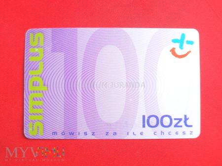Simplus 100 zł.