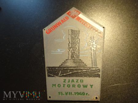 Blacha Zlotowa z 1960 r.