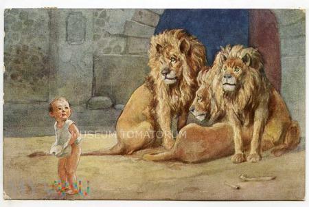 Susemihl - Daniel w klatce z lwami