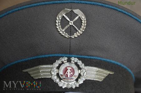 Czapka podoficera lotnictwa NVA DDR Schirmmütze