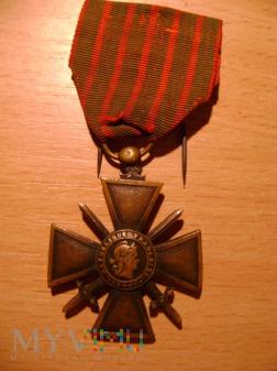francuski krzyż wojenny1914-1916