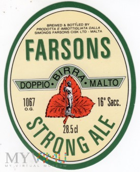Farsons Strong Ale