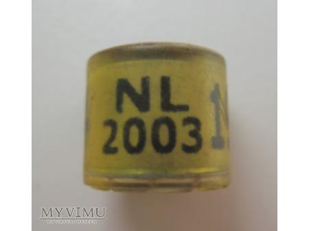 OBRĄCZKA NL - Holandia (2003)