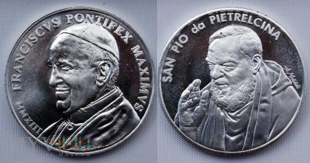 Medal pamiątkowy z Włoch