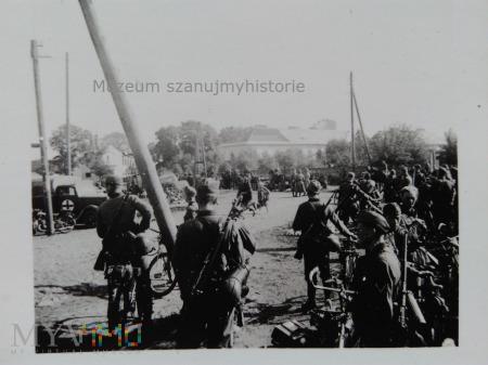 na polsko- niemieckiej granicy 1939