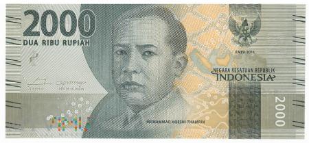 Duże zdjęcie Indonezja - 2 000 rupii (2017)
