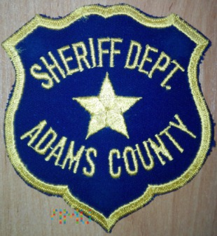 Adams county sheriff