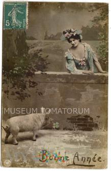 Świnka Noworoczna - 1908