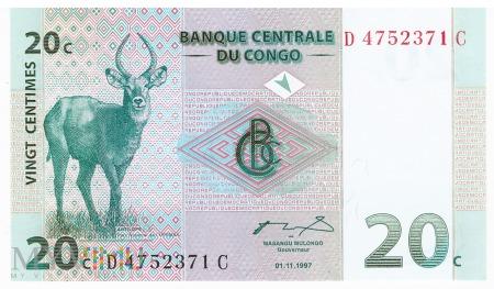 D.R. Konga - 20 centymów (1997)