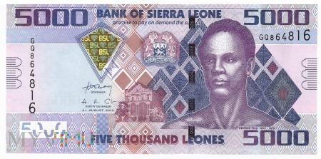 Sierra Leone - 5 000 leones (2013)