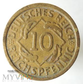 10 Reichspfennig 1924 G
