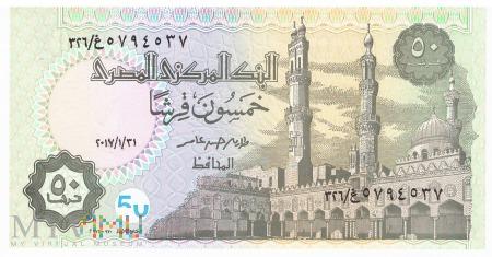 Egipt - 50 piastrów (2017)