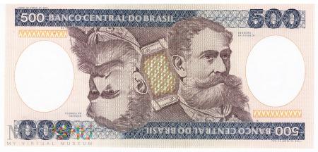 Brazylia - 500 cruzeiros (1985)