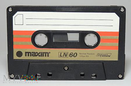 Maxim LN 60 kaseta magnetofonowa