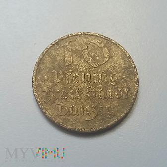 10 fenigów Danzig 1932