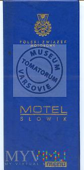 """Słowik. Restauracja """"Motel Słowik PZM"""""""