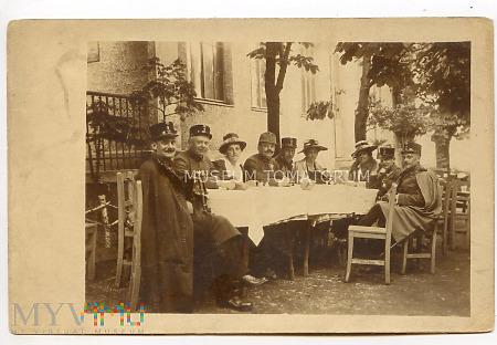 """Zdjęcie grupowe """"militarne"""" - biesiadne"""