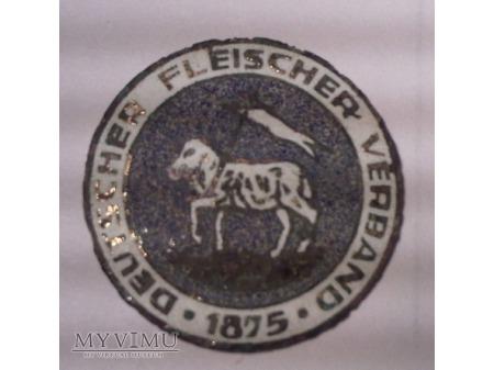 Niemiecka odznaka Deutscher Fleischer Verband 1875