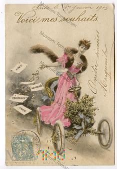 Życzenia ode mnie - obieg 1904