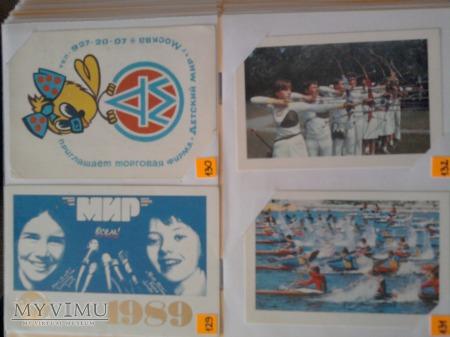 Kalendarzyki 1989