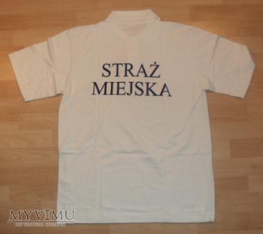 Koszulka polo Straży Miejskiej - biała