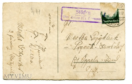 Frohe Weihnachten St. Nicholas - pocztówka