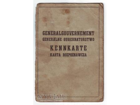 Kennkarte (Generalgouvernement)