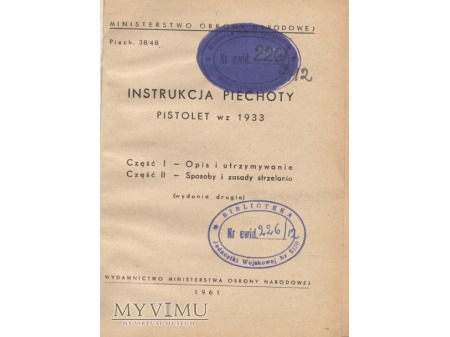 PISTOLET wz. 1933 TT
