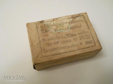 Pudełko na amunicję do K.M. Lotniczych