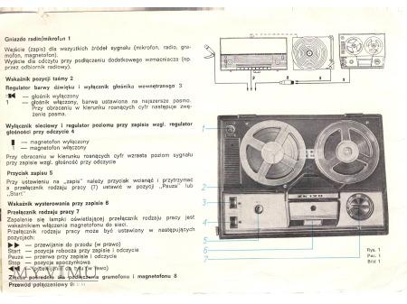 INSTRUKCJA MAGNETOFONU ZK-120